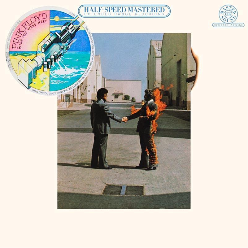Pink Floyd Wish You Were Here CBS Mastersound HC 33453 24 Bit 96 KHz Vinyl Rip Plus Redbook CD Version