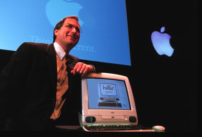 Steve-Jobs-iMac